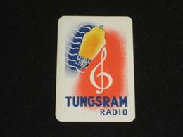 1 Oude Speelkaart TUNGSRAM Radio - Other