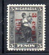 APR1544 - NICARAGUA 1949 , Servizio  Yvert N. 119  * (2380A) - Nicaragua