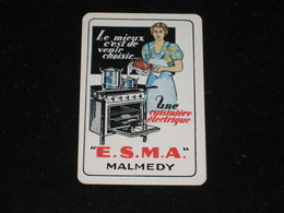 1 Oude Speelkaart Cuisinière ESMA Malmedy - Other
