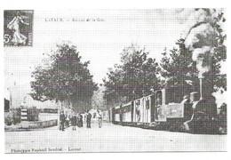 Saint Lieux Les Lavaur Le Tramway à Vapeur Du Tarn - Autres Communes