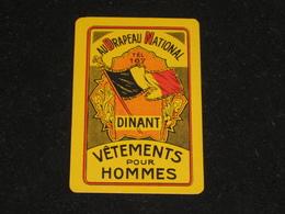 1 Oude Speelkaart Au Drapeau National DINANT - Other
