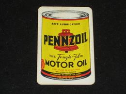 1 Oude Speelkaart PENNZOIL Motor Oil JOKER - Other