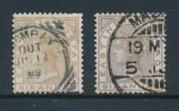 INDIA, 1876 6As Olive Bistre+pale Brown Fine - Inde (...-1947)