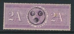 INDIA, Q Victoria Fiscal 2As Very Fine - 1882-1901 Keizerrijk