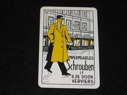 1 Oude Speelkaart SCHROUBEN VERVIERS - Other