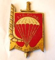 Insigne Du 3° Régiment De Parachutiste D' Infanterie De Marine - Marinera