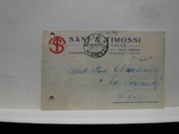 BIBBIENA  .. AREZZO  --- SANI 6 TIMOSSI -- CEMENTI - CALCE - Arezzo