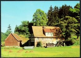 C6685 - TOP Rote Mühle - Biberau Kr. Hildburghausen OT Tellerhammer - Wassermühlen