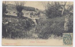 AUTRUY Sur JUINE - Le Pont De St-Eloi - Bon état- 1907 - Otros Municipios