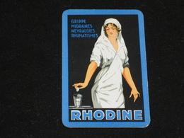 1 Oude Speelkaart RHODINE - Other
