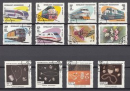 (1) Madagascar / Madagaskar - 25 Used Stamps From The Years 1993-1994 - See 3 Scans - Madagaskar (1960-...)