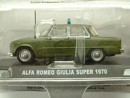 ALFA ROMEO GIULIA SUPER 1970  - POLICE ITALIENNE - Voitures, Camions, Bus