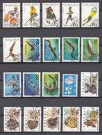 (1) Tanzania/Tansania - 19 Used And 1 Unused Stamps From The Years 1986-1993 - See Scan - Tansania (1964-...)