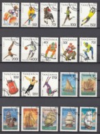 (2) Tanzania/Tansania - 20 Used Stamps From The Years 1993-1994 - See Scan - Tansania (1964-...)