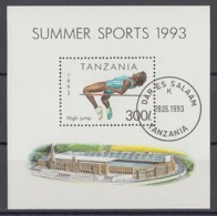 (3) Tanzania/Tansania - 7 Used Blocks From The Years 1993-1994 - See 7 Scans - Tansania (1964-...)