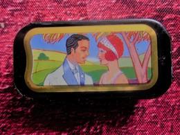 Vintage Boite De Bonbons Mini Tonic Vendu En Pharmacie Réglisse Eucalyptus,Parfume L'haleine, Sans Sucre Sans Colorant - Other