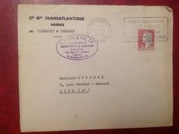 Générale Transatlantique Clermont Ferrand - Marcophilie (Lettres)