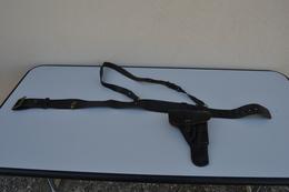Etui Pistolet + Ceinturon Gendarmerie Ww2 - 1939-45