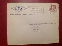 CTA  Paris - Marcophilie (Lettres)