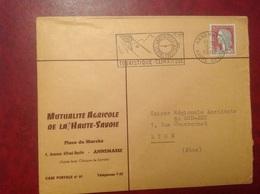 Annemasse Mutualité Agricole - Marcophilie (Lettres)