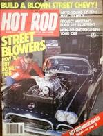 CA189 Zeitschrift HOT ROD, Mai 1979, Englisch, Project Mustang, Ford 289 - Verkehr