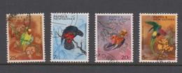 Papua New Guinea SG 121-124 1967 Parrots Used - Papouasie-Nouvelle-Guinée