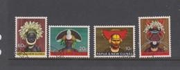 Papua New Guinea SG 125-128 1968 Headdresses Used Set - Papouasie-Nouvelle-Guinée