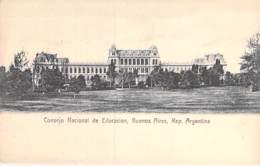 ARGENTINA Argentine - BUENOS AIRES : Consejo Nacional De Educacion - CPA - AMERIQUE DU SUD South America Sudamerica - Argentine