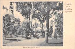 ARGENTINA Argentine - BUENOS AIRES : Plaza Pueyredon - Flores- CPA - AMERIQUE DU SUD South America Sudamerica - Argentine