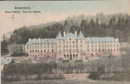 Ansemburg , Neues Schloss , Nouveau Chateau , COLORISEE - Cartes Postales
