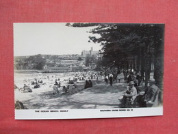 The Ocean Beach  Manly   RPPC    Ref 3432 - Other