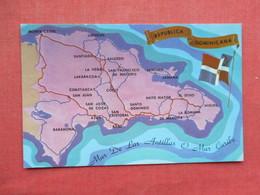Map    Dominican Republic   Ref 3433 - Dominicaanse Republiek