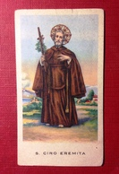 Santino, Holy Card- San Ciro Eremita- Ed. G.Mi N°72,28.7.1913. - Religione & Esoterismo