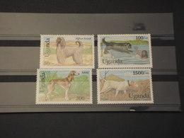 UGANDA - 1993 CANI 4 VALORI - NUOVI(++) - Uganda (1962-...)