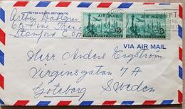USA Air Mail 1955 Sweden - Ohne Zuordnung