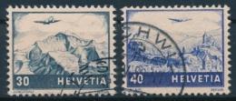Zumstein F43-F44 / Michel 506-507 Sauber Gestempelt - Used Stamps