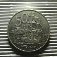 New Zealand 50 Cents 2001 - Nouvelle-Zélande