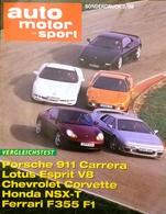 CA190 Zeitschrift Auto Motor Und Sport, Sonderdruck 3/98, Porsche 911 Carrera - Auto & Verkehr