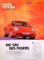 CA192 Zeitschrift Auto Revue Sonderdruck Porsche 911 Carrera, Neu - Auto & Verkehr