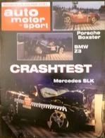CA194 Zeitschrift Auto Motor Und Sport, Sonderdruck Heft 21/97, Porsche Boxster - Auto & Verkehr