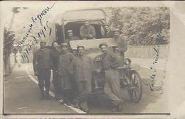 GUERRE 1914 1918 GROUPE DE MILITAIRES ECOLE D INSTRUCTION CARTE PHOTO - War 1914-18