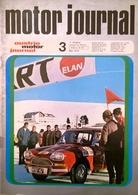 CA208 Zeitschrift Austria Motor Journal, Ausgabe 3, 1970, VW 411 Electronik, Barracuda Formula S, Neuwertig - Automóviles & Transporte