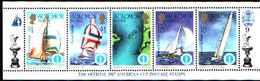 5527bis ) SOLOMON ISLANDS 1986 AMERICA'S CUP 1987  Sere In Striscia-MNH** - Isole Salomone (1978-...)