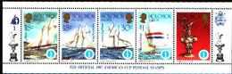 5528bis ) SOLOMON ISLANDS 1986 AMERICA'S CUP 1987  Sere In Striscia-MNH** - Isole Salomone (1978-...)