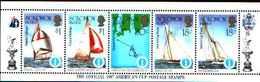 5531bis ) SOLOMON ISLANDS 1986 AMERICA'S CUP 1987  Sere In Striscia-MNH** - Isole Salomone (1978-...)