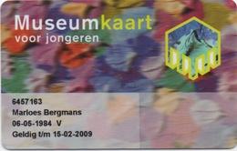 Carte Plastique Museum Kaart Voor Jongeren : Www.museum.nl - Other Collections