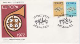 Greece 1972 FDC Europa CEPT (G100-26) - 1972