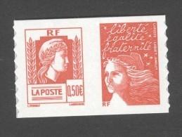 France Neufs** - Autoadhésif - Marianne D'Alger - N° P3716 - Côte: 4,50 Euros - TB - France