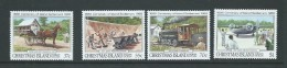 Christmas Island 1988 Settlement Centenary & Transport Set 4 MNH - Christmas Island