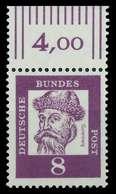 BRD DS BED DEUT Nr 349x Postfrisch ORA X807B92 - Unused Stamps